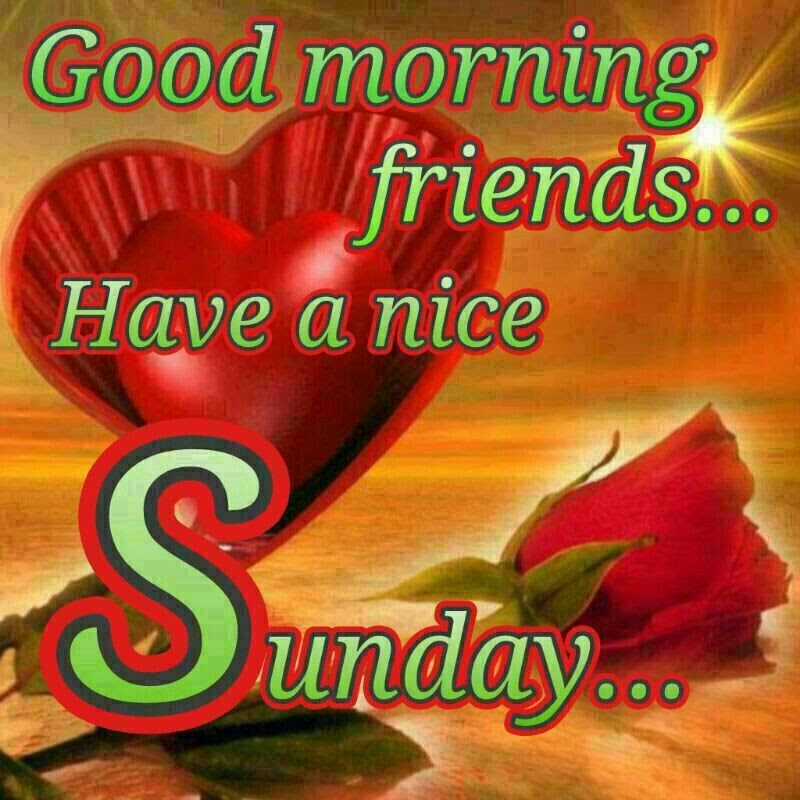 Good Morning Sunday Friends Pictures Photos And Images For