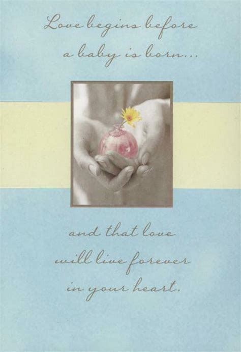 Bud Vase Loss of Baby Sympathy Card   Greeting Cards