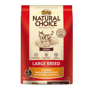 Nutro Natural Choice Senior Large Breed Dog Food 1S401 ...