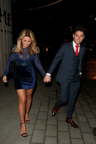 Joey Essex - Sam Faiers and Joey Essex Out for Valentine's Day