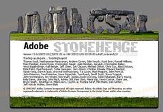 Photoshop CS4 Extended Stonehenge