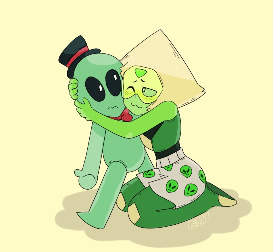 peri loves her aliens