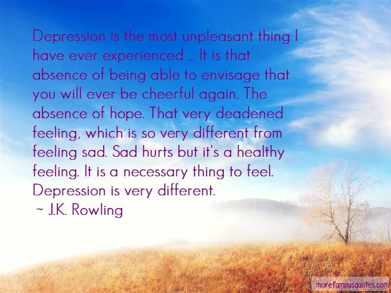 Quotes About Sad And Depression: top 21 Sad And Depression ...