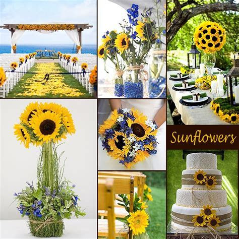 40 best Sunflower And Navy Blue Wedding images on
