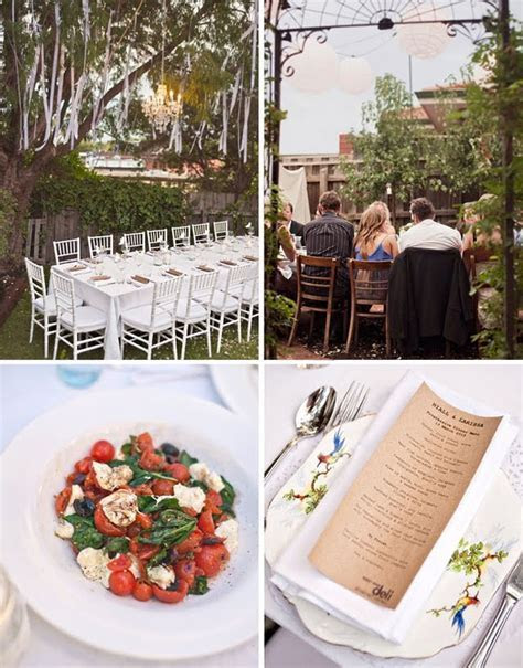 Cheap Backyard Wedding Ideas   Marceladick.com