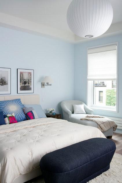 contemporary bedroom by Gleicher Design - Architecture & Interiors