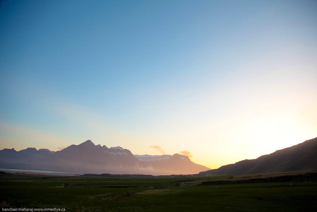 Iceland Day 6 - Berunes Sunset