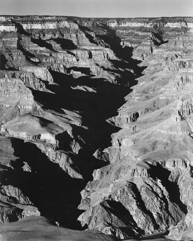This picture on computer screen does not represent the full glory of an Ansel Adams print.  Ansel Adams