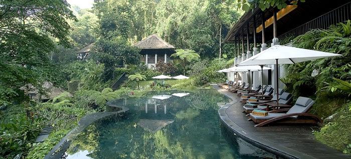 maya ubud lagoon pool 2