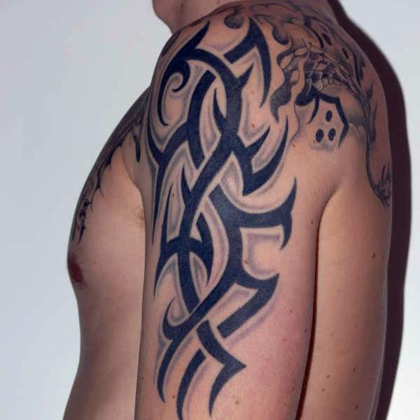 Arm Tribal Tattoos For Guys Tattoos Designs Ideas