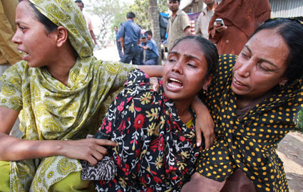 Factory fire kills workers bangladesh