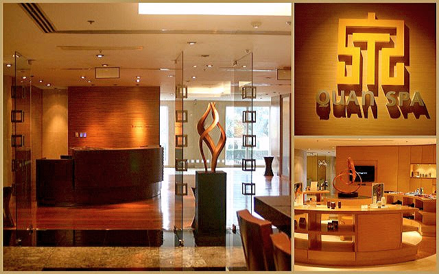 Business Centre and Quan Spa at Marriott Hotel Manila