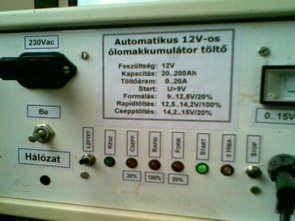 Mạch sạc pin 20-200 Amp