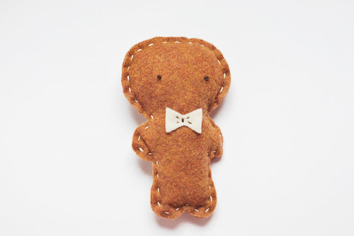 felt friends gingerbread