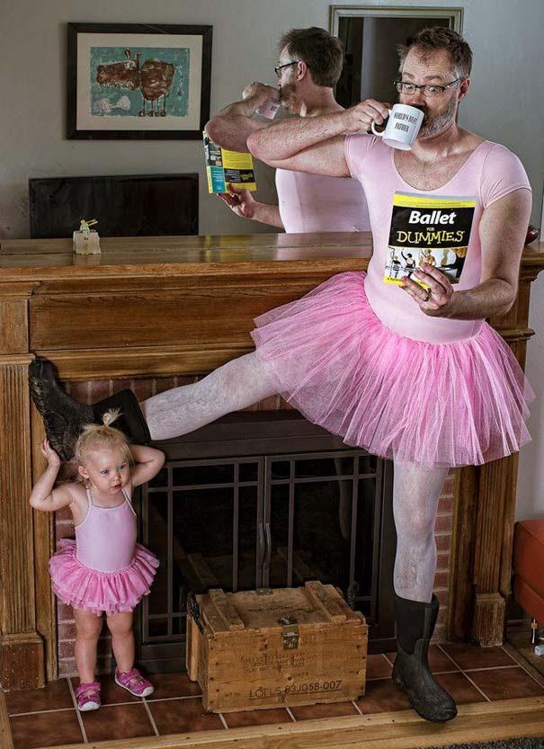 Πατέρας και κόρη σε απίθανες φωτογραφίες (12)