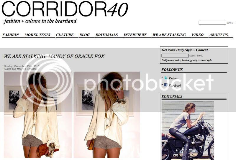 Corridor 40 Interview