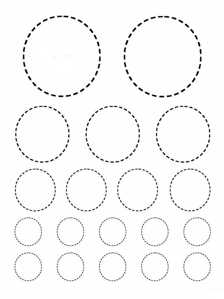 Geometrik şekiller 14 ücretsiz Boyama Resimleri