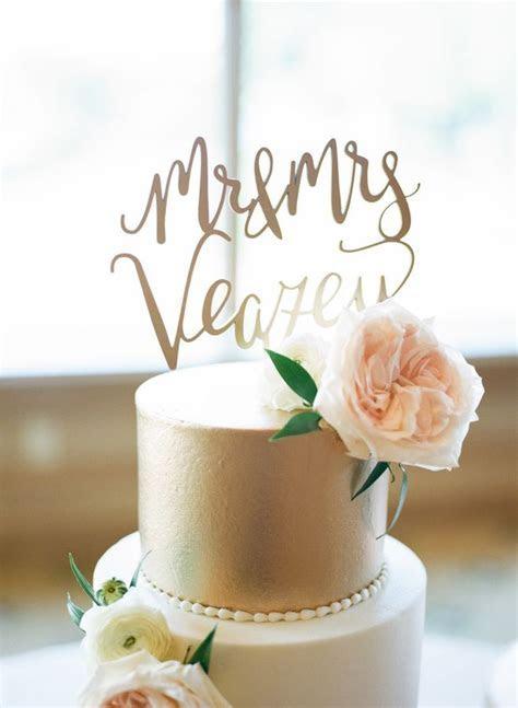 Romantic Blush   Gold Ballroom Wedding in Oklahoma   Cakes