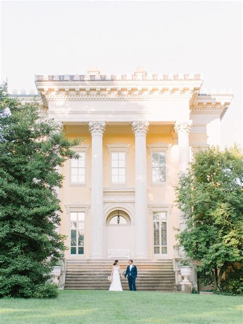 Evergreen Museum & Library Wedding Photographer in