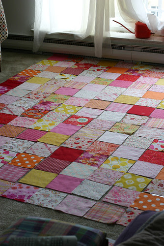 Colors Patchwork Quilt Tutorial - In Color Order