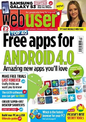 Webuser Magazine 17 May 2012