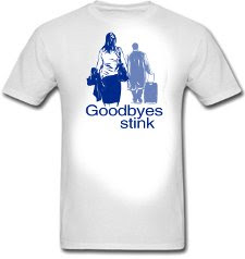 The Office Michael Scott Goodbyes Stink T Shirt Tshirt Groove