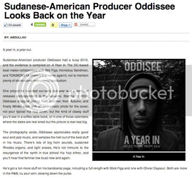 Oddisee MTV iggy Post