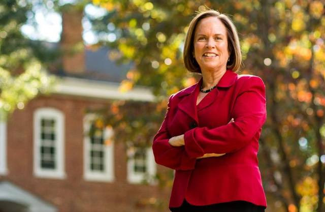 Jane Fernandes, president of Guilford College.