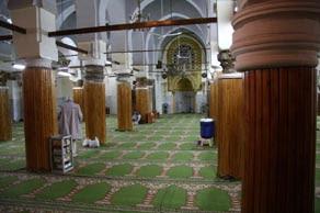 Intérieur de la Grande Mosquée de la rue Nationale