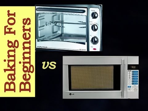 Cakes Amp More Compare A Convection Microwave Amp An Oven