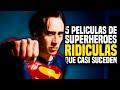 5 Películas Ridículas De Superhéroes Que Casi Llegaron Al Cine