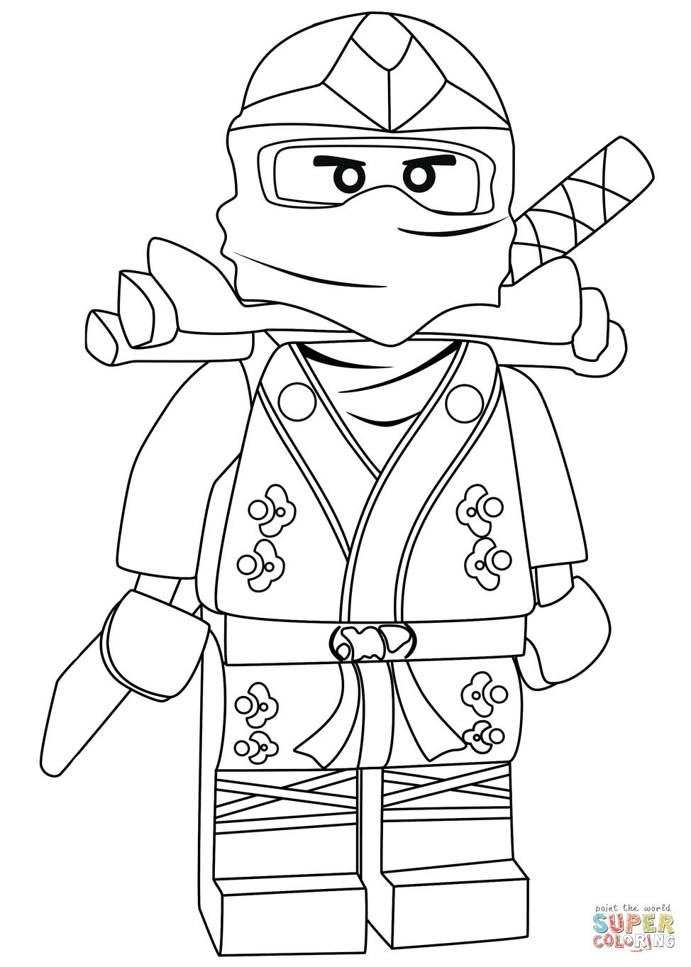 Ninjago Lloyd Green Ninja ZX coloring page | Free ...