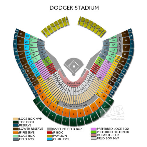 Dodgers Seating Map Dodger Stadium Seat Map | Bedroom 2018