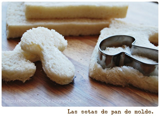 Las setas de pan
