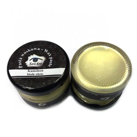 Pasta woskowa SeeArt 20 ml. kameleon białe złoto