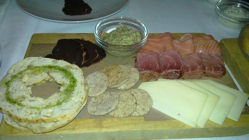 Cena en el OLSEN