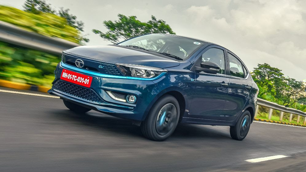 The Tigor EV pulls away from a dead stop like a more expensive car. Image: Anis Shaikh/Overdrive
