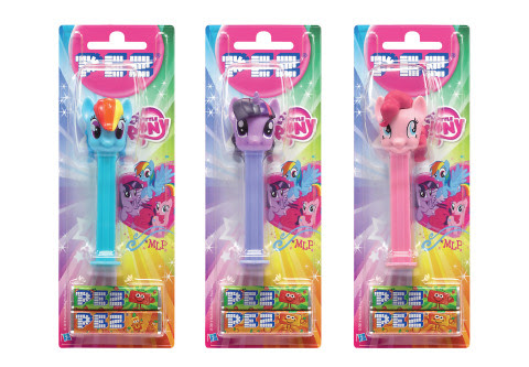 A MY LITTLE PONY-branded line of PEZ dispensers will be unveiled at Brand Licensing Europe in Olympi ...