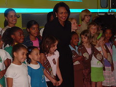 Condi and the Kids