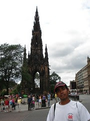 Scott Monument, Edinburgh, Scotland, United Kingdom