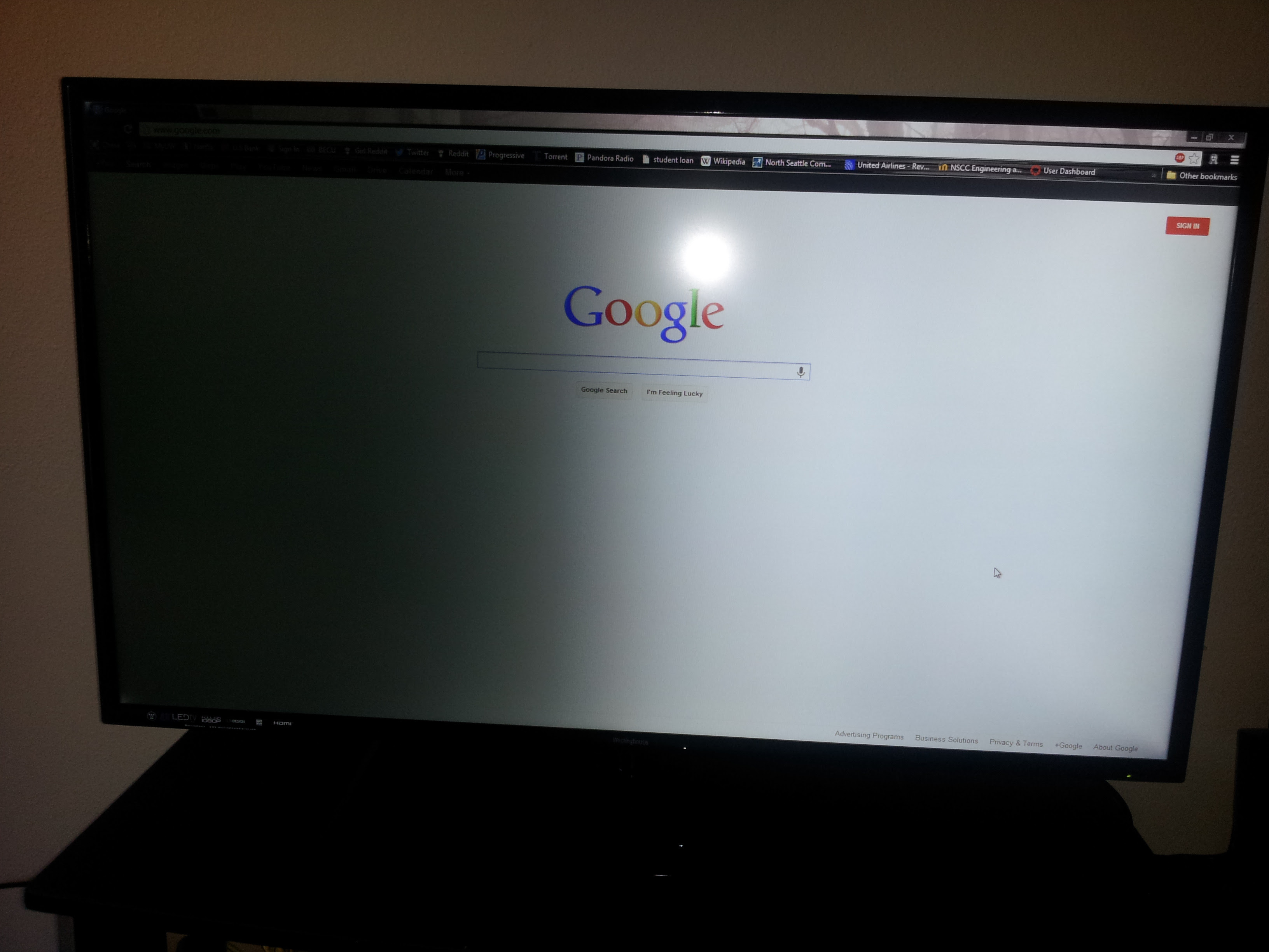 Westinghouse 46 1080p Led Tv Half The Screen Has Gone Dark Fixit