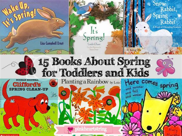 15 Spring Books for Toddlers and Kids