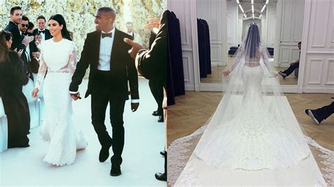 Michael Kors Wedding Dress For Kim Kardashian   Wedding