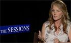 Helen Hunt talking about The Sessions