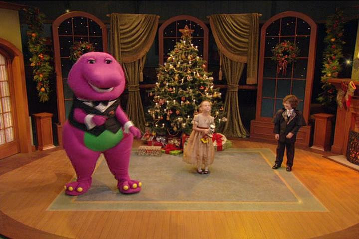 barney home video a very merry christmas