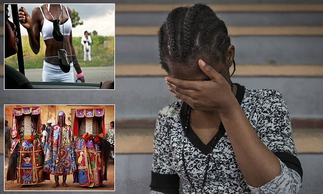 Italian priests EXORCISE prostitute Nigerian migrant girls to break voodoo spell
