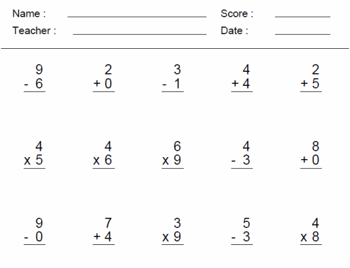 3rd Grade Math Worksheets | Division, Games, and Problems