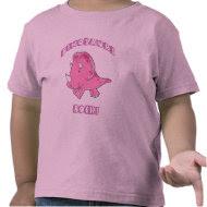 Dinosaurs Rock Pink shirt