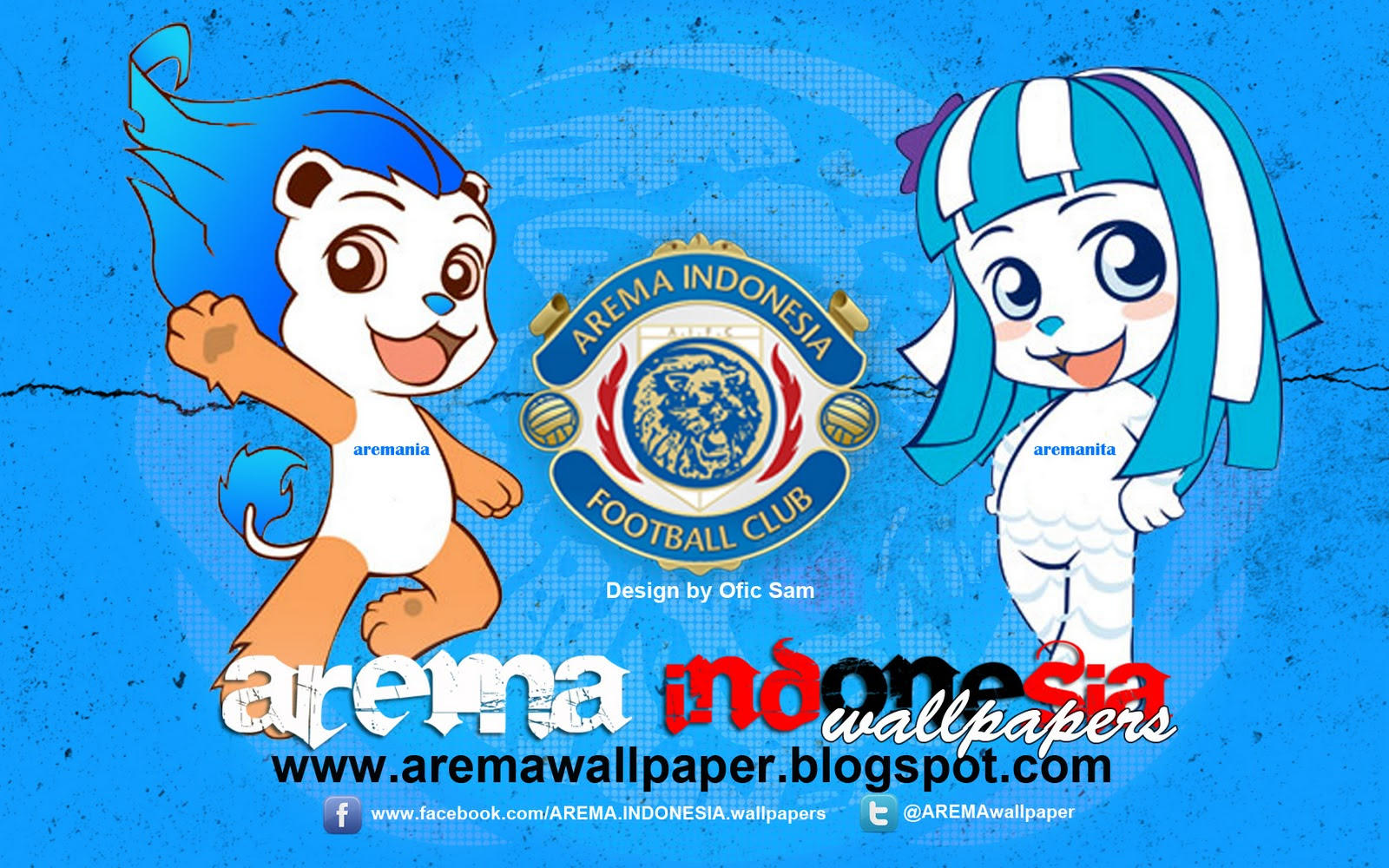 Wallpaper Arema Indonesia 2011 Edisi Novembermaskot Arema