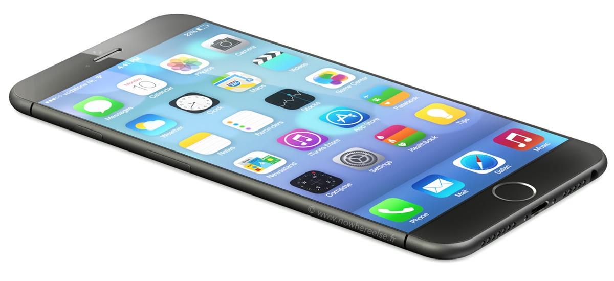 iPhone 6 concept (NowhereElse and Martin Hajek 001)